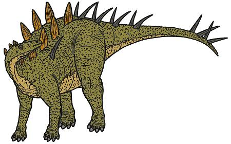 Kentrosaurus picture 2