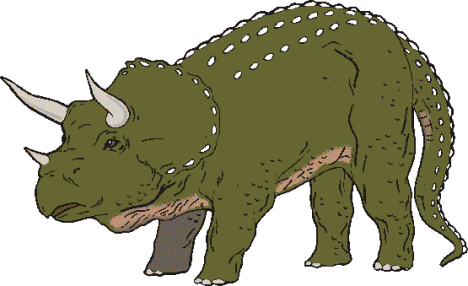 dinosaur picture triceratops